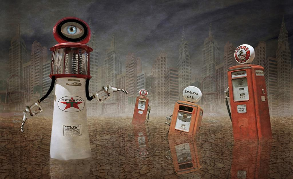 The Invasion of the Petrol Pumps by Colin Harrison - CCC