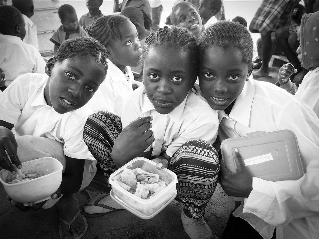 After School Care in Namibia by Glenda Urquhart