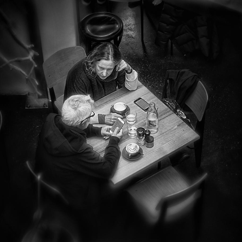 Coffee Time by Peter Hammer