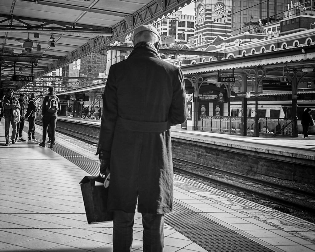 Waiting for the 2 42 by Mark Sutton