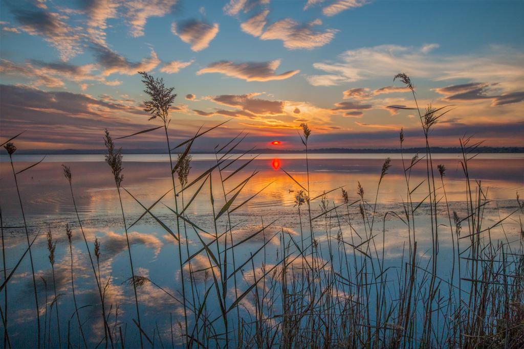 Sunset at Canton Beach by Liz Furey