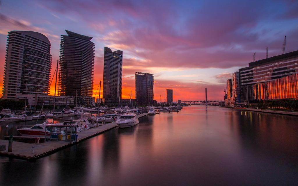Yarra Sunset by Jon Furey