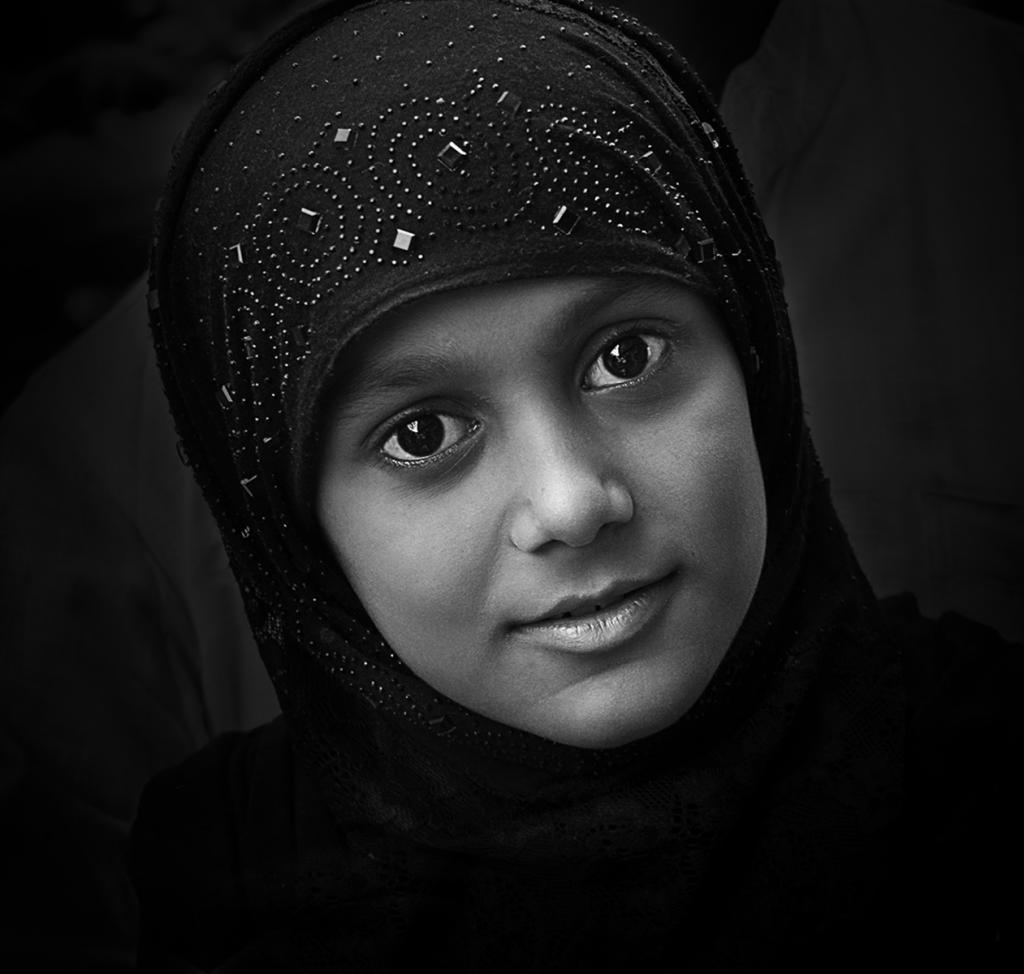 Muslim Girl by Margaret Edwards