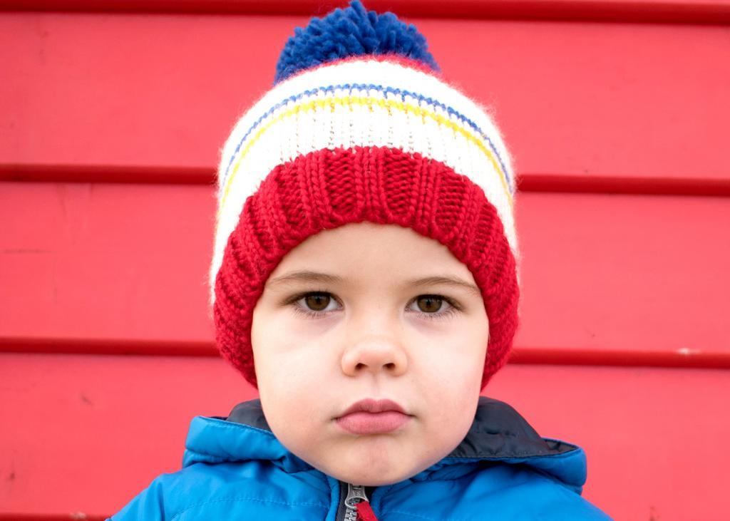 Boy in Beanie by Gabriela Perotti