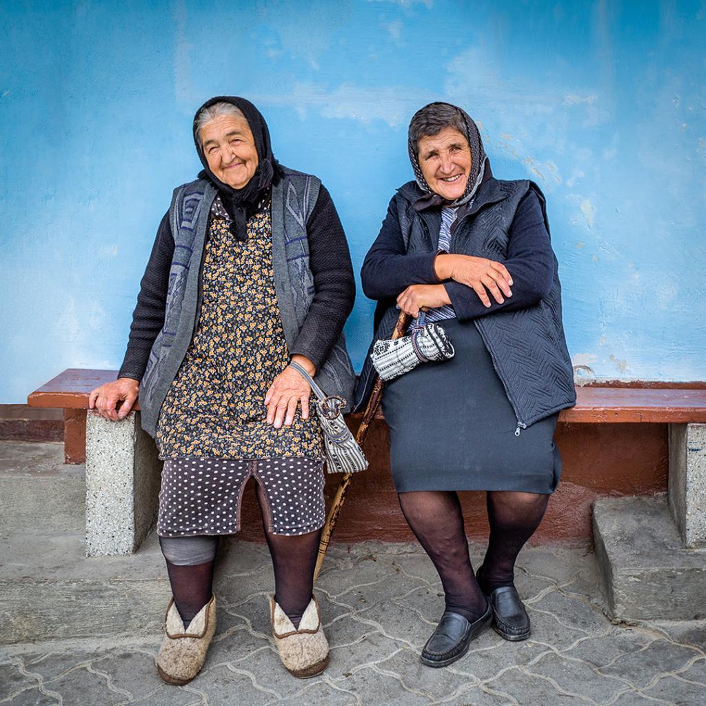 Romanian Friends by Brian Seddon