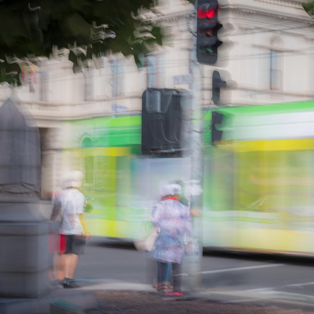 Tram Stop by Greg Earl