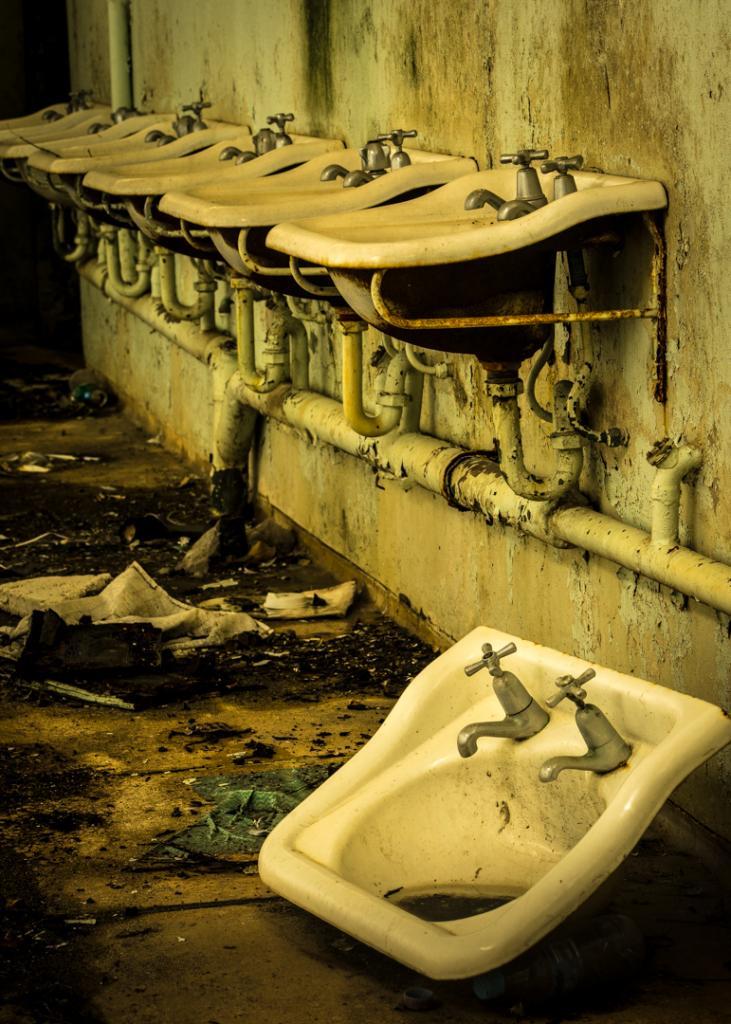 Washroom by Penny Chadwick
