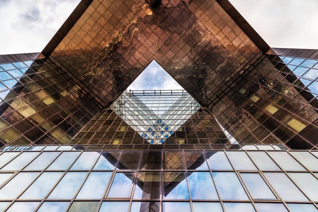Angular Reflections by Christine Smith