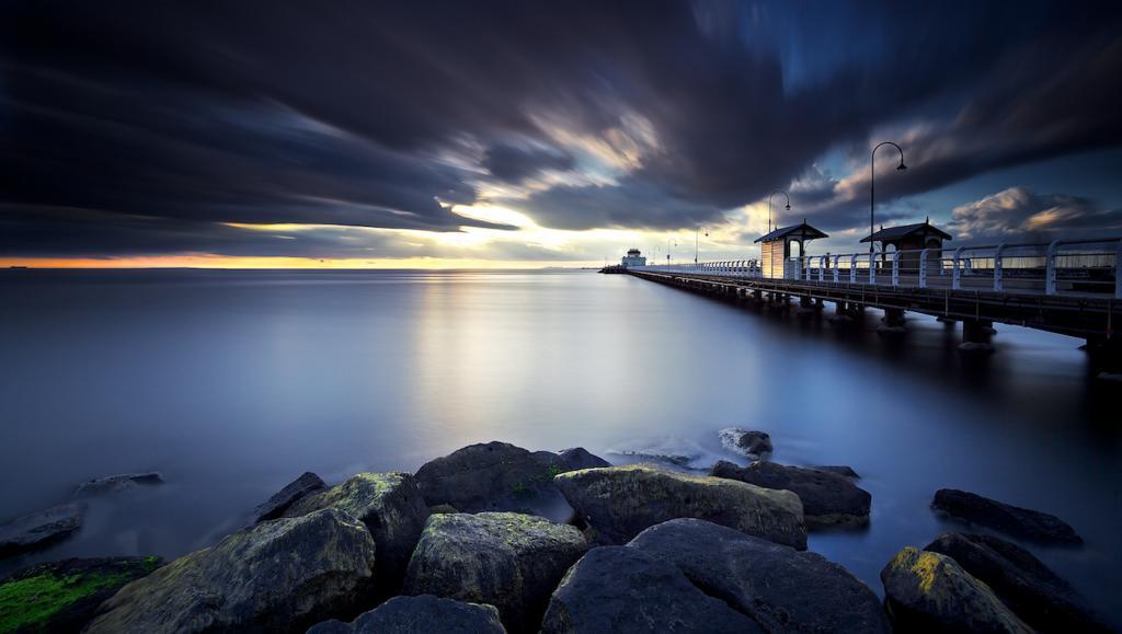 Idle Spirit St Kilda Pier by Frank Pisani - SSPS
