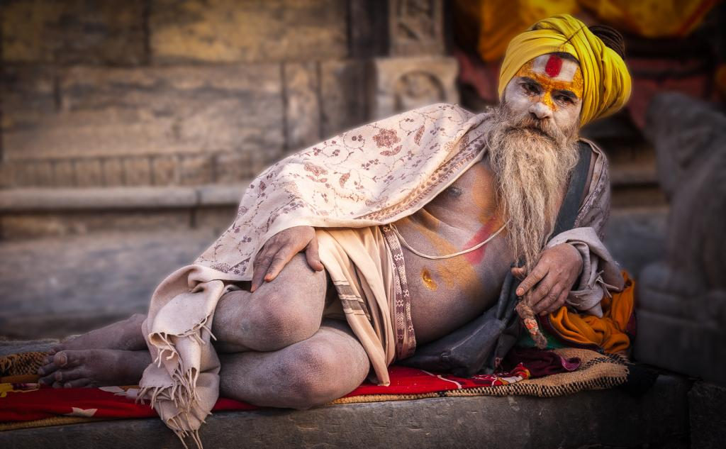 Ashen Sadhu by Alfred Zommers - SSPS