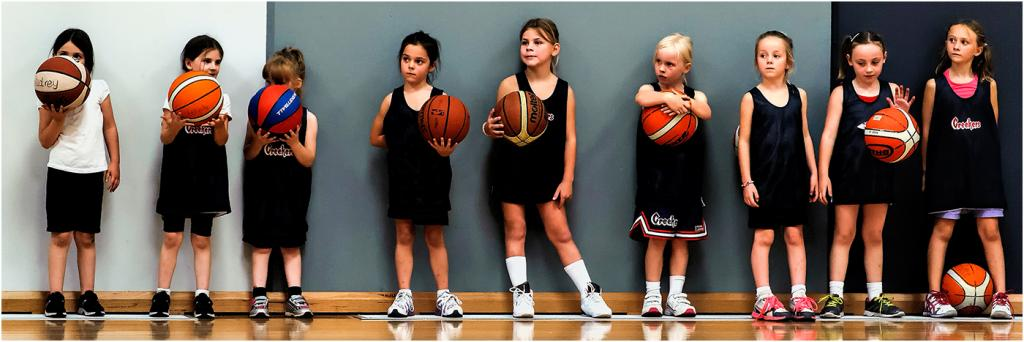 Basketball Team by Bob Clothier - SSPS