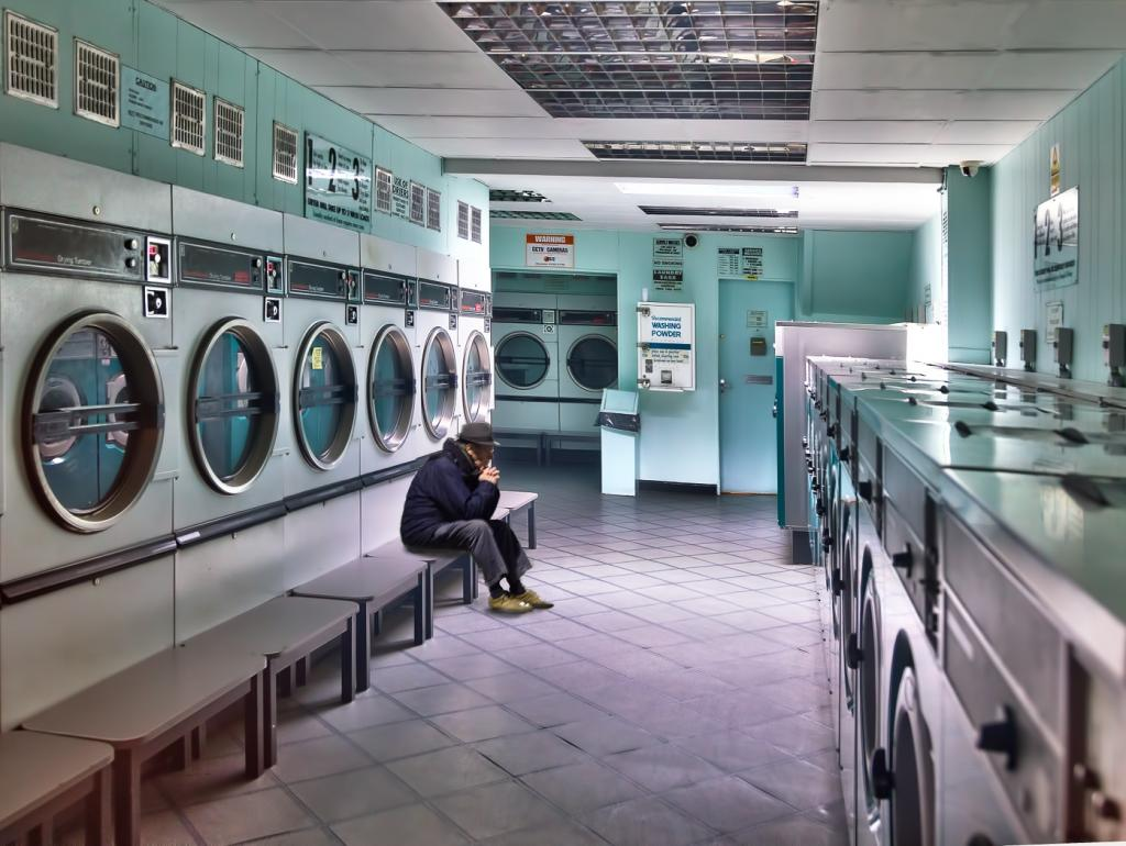 Late Night Laundrette by David Hyett - CCC