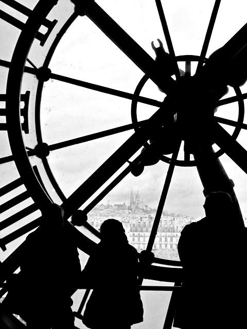 Paris View from a Clock Tower by John Morgan
