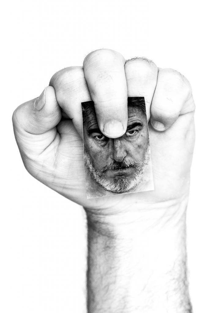 Self Portrait by Alan Vincent